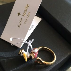 🎉Sale! Host Pick!🎉 KATE SPADE gold plated ring